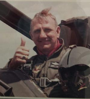 Colonel Lon Spivey, 1984, Langley AFB, F-15 Eagle Flight
